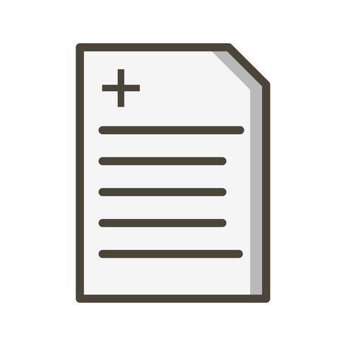 Vektorbericht-Symbol