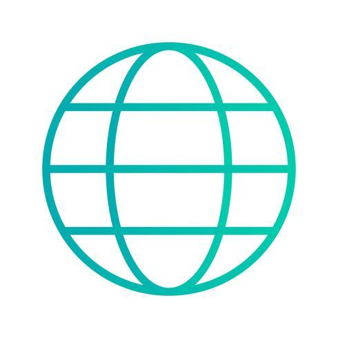 Vector Globe Icon - Download Free Vectors, Clipart Graphics