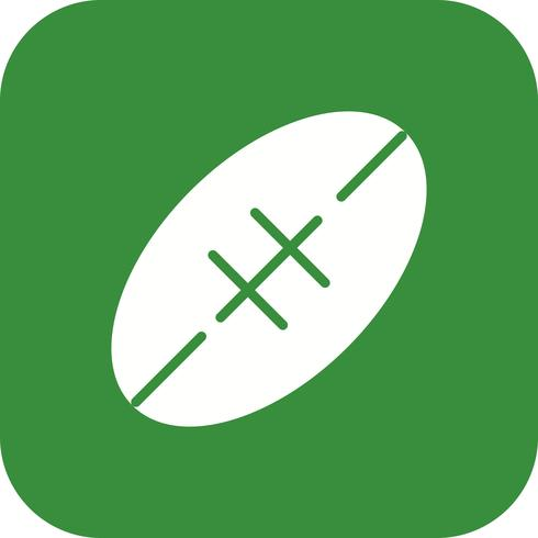 Rugby Icon Vector Illustration