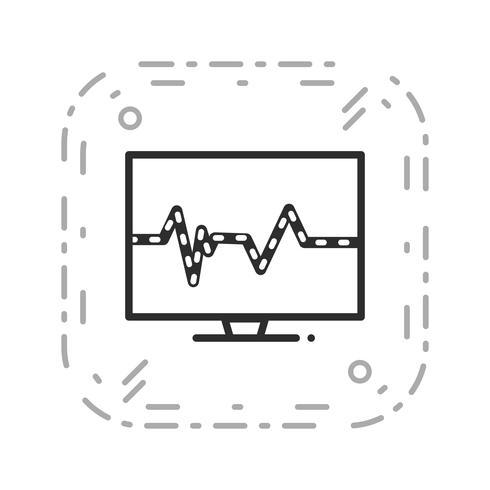 Vector Pulse pictogram
