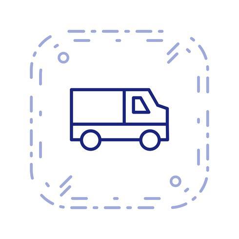 Vector Van ícone