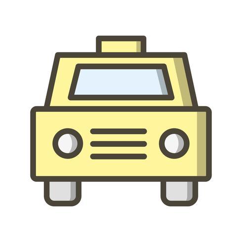 Vector taxi pictogram