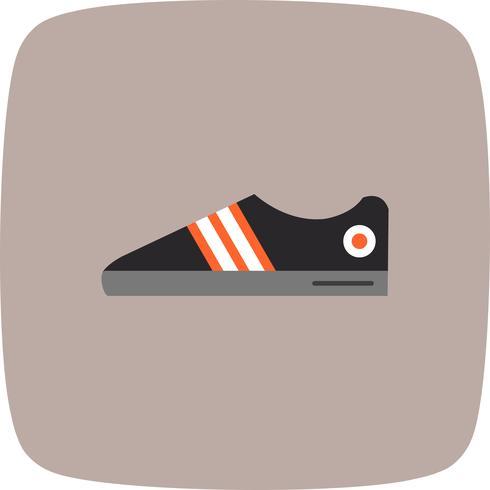 Icono de zapatos ilustración vectorial