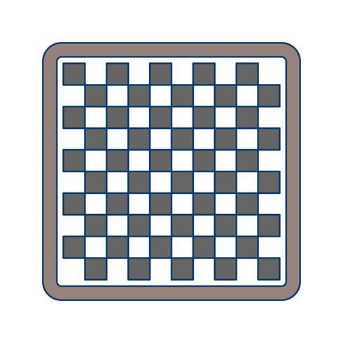 Illustrazione vettoriale di scacchi icona