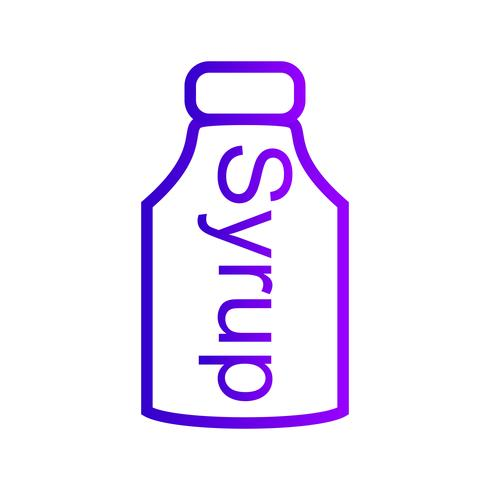 Vector Syrup Icon