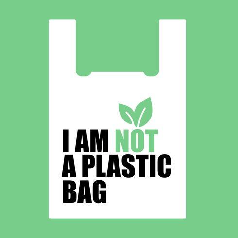 Ik ben geen plastic tas.