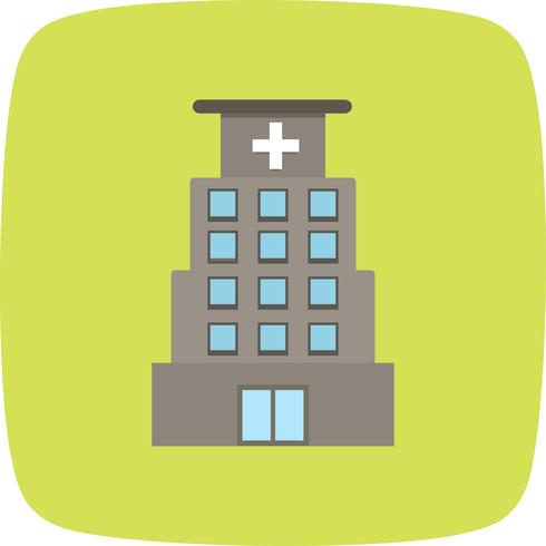 Vector icono de hospital