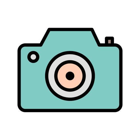 Camera pictogram vectorillustratie