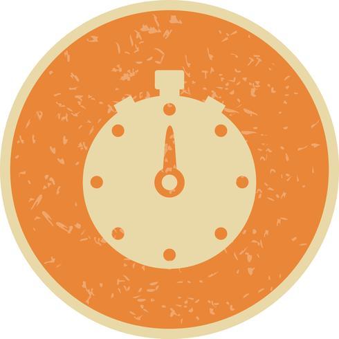Vector chronometer pictogram