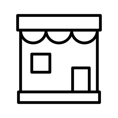 Vector winkel pictogram