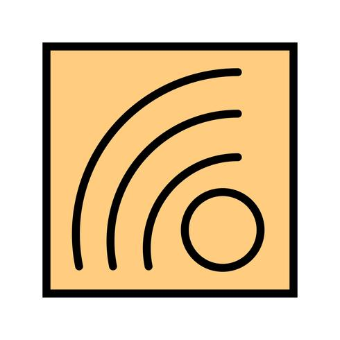 vektor rss feed icon