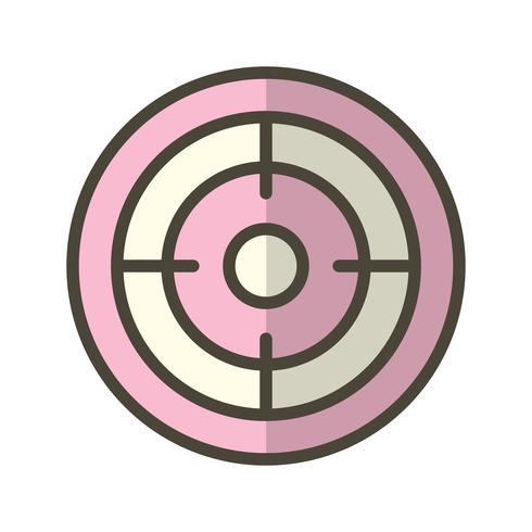 Mål Icon Vector Illustration