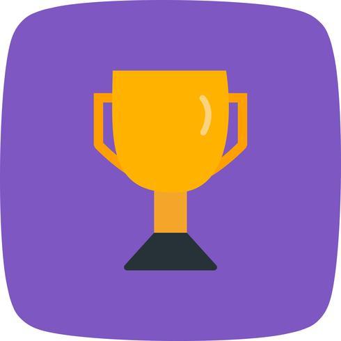 Trofee pictogram vectorillustratie