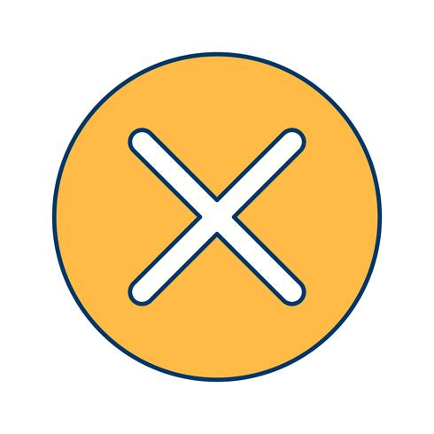 Cancel Icon Vector Illustration