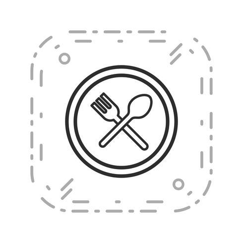 Vector Resutrent verkeersbord pictogram