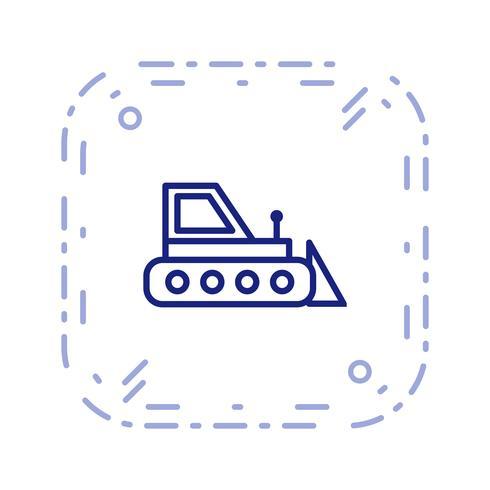 Vector Bulldozer pictogram