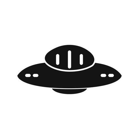 Vector UFO-pictogram