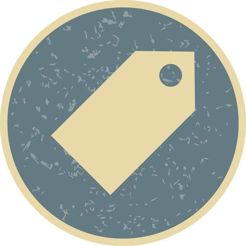 Tag pictogram vectorillustratie