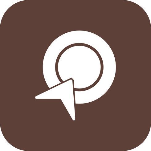 Vector betalen per klik pictogram