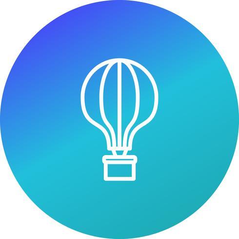 Vector luchtballon pictogram