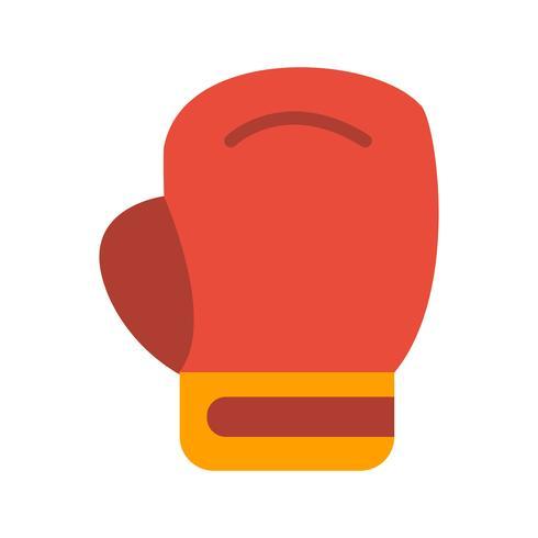 Boxning Ikon Vector Illustration
