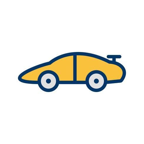 Vector icono de coche deportivo