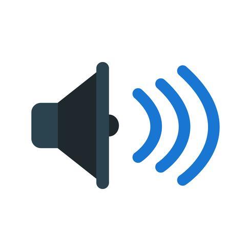 Sound Icon Vector Illustration