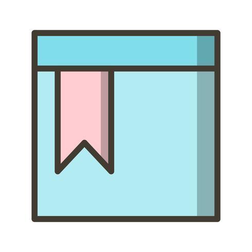 Icona della pagina segnalibro