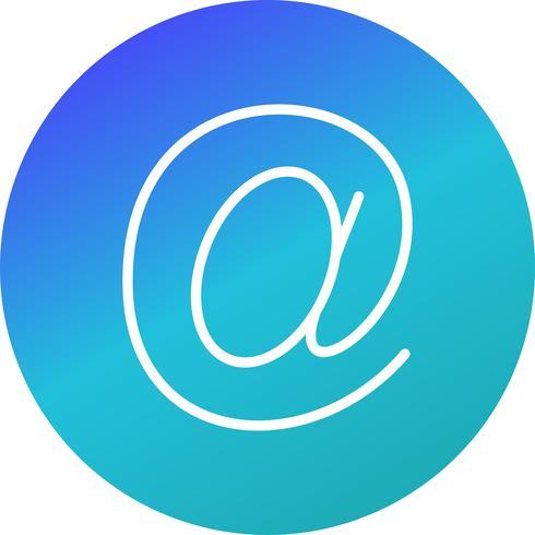 Icône d'adresse e-mail de vecteur - Telecharger Vectoriel ...