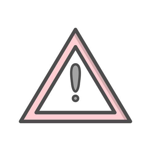 Vector Andere gevaren Verkeersbordpictogram