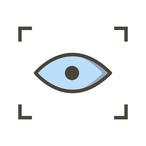Vector scan pictogram