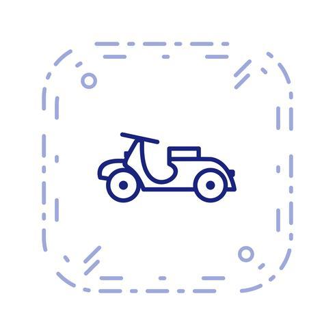Icona di Vespa vettoriale