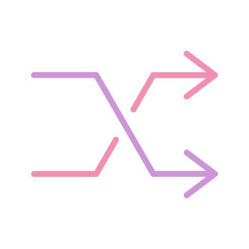 Mélanger l'icône Illustration vectorielle