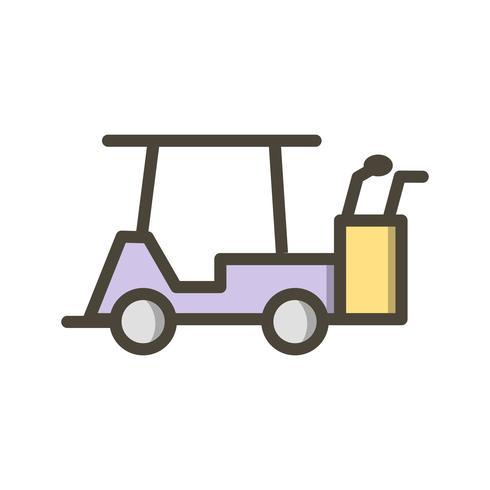 Vector Golf Cart Icon