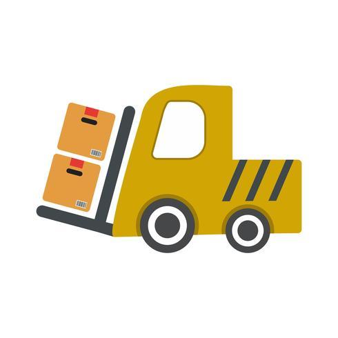 Icona del caricatore di vettore