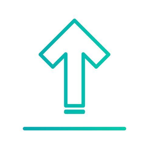 Icono de carga vectorial