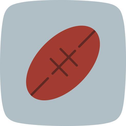 Rugby pictogram vectorillustratie