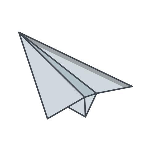 Paper Plane Icon Ilustração Vetor
