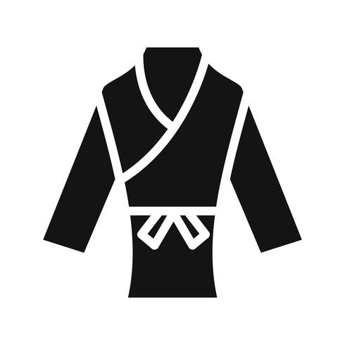Karate Ikon Vektor Illustration
