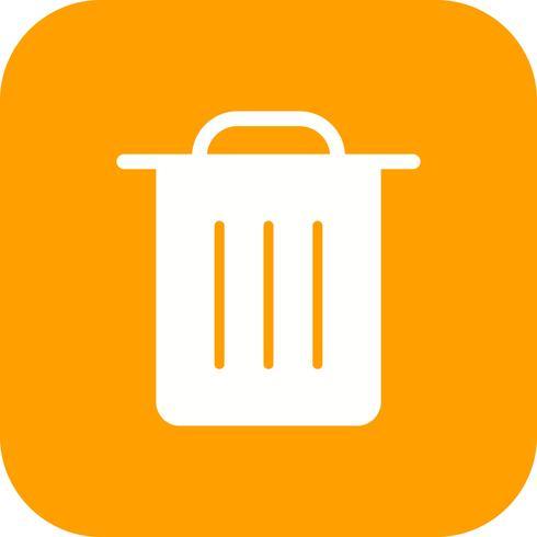 Garbage Icon Vector Illustration