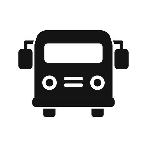 Vektor-Schulbus-Symbol vektor
