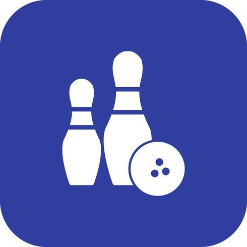 Bowling Icon Vector Illustration