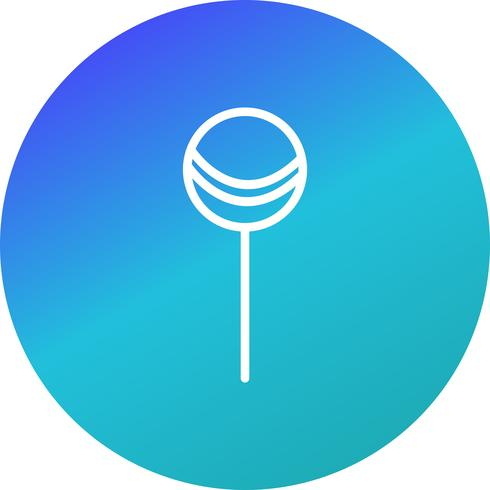 Icono de vector Lollipop