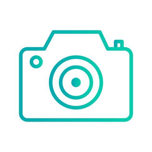Icono de cámara ilustración vectorial