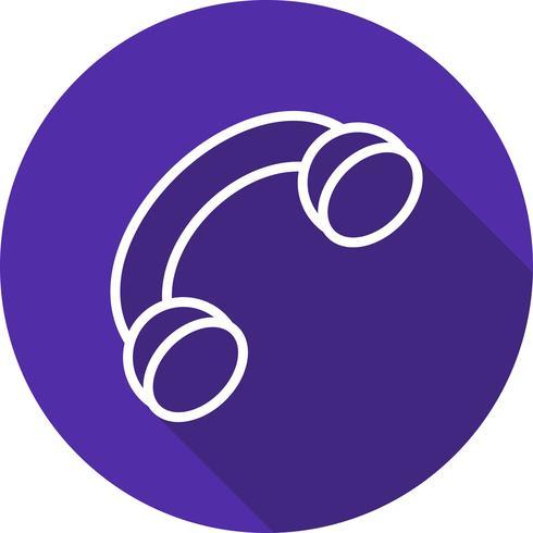 Vector icono de llamada