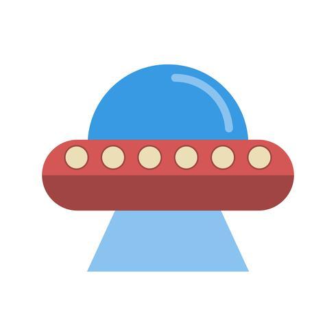 Vektor-UFO-Symbol
