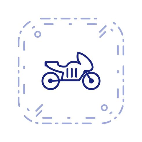 Vector Bike Icon