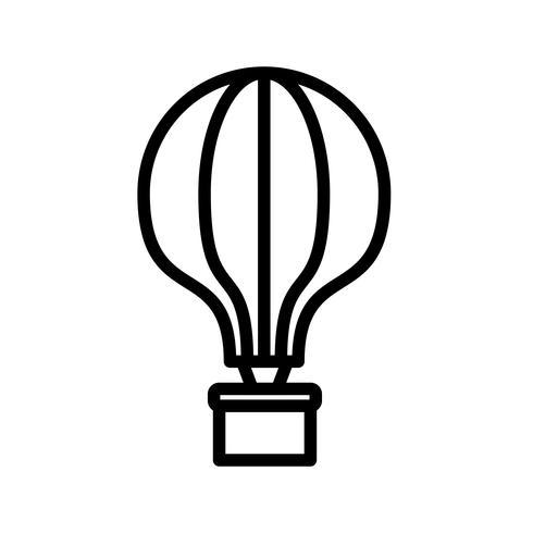Vector icono de globo de aire