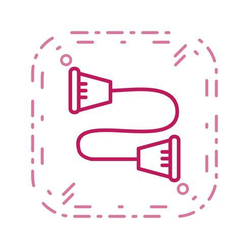 Strandpulling Icon Vector Illustration