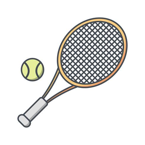 Tennis Icon Vector Illustration